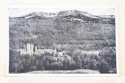 Balmoral Castle and lochnagar mountain