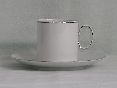 Thomas ~ Fine Platinum Band ~ Coffee Cup & Saucer