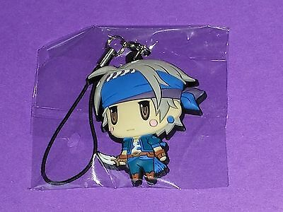 Locke Lock Cole Treasure Hunter Final Fantasy 6 VI FFVI Trading Rubber Strap V1