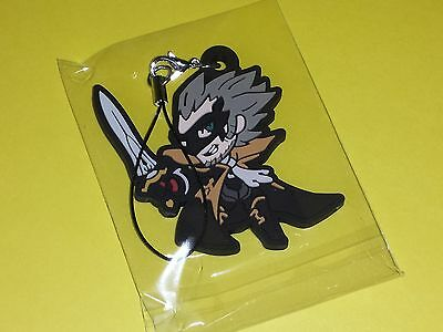 Bravely Second Default Game Rubber Strap Mascot Charm Square Emperor Oblivion