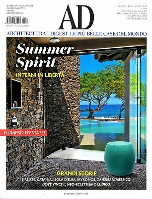 Architectural Digest Italy July/August Luglio/Agosto 2017