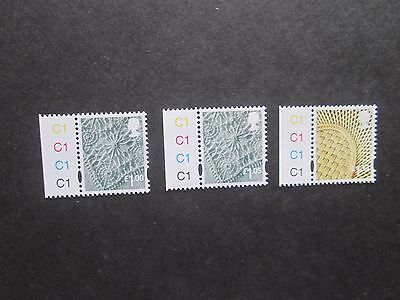 Regional Northern Ireland x 3 cylinders C1-U/Mint-Free Posting-See scans.Lot 4/4