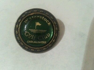 Waterstock Golf Club Ball Marker