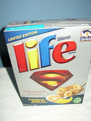 Limited Edition Quaker Life Cereal Superman Returns