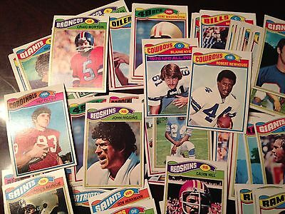 Vintage 1970's Football Cards lot of 100!!