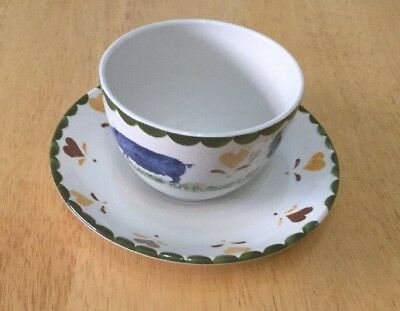 Jacks Farm Cup And Saucer. Woods Ware