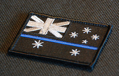Thin Blue Australia Patch