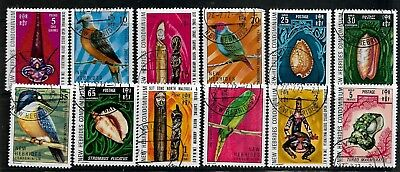 NEW HEBRIDES Stamps 1972 SG158/68 Used