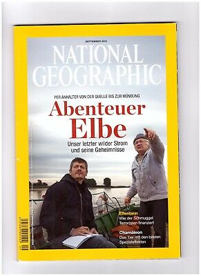 National Geographic  September 2015 Germany Deutschland