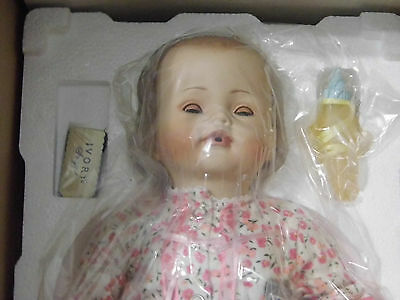 Ideal Bye Bye Baby Playpal Doll Done By Danbury Mint With Seat In Box