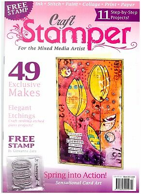 Craft Stamper Magazine March 2016