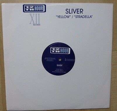 "SILVER - Yellow / Stradella, 2000 12"" Vinyl. TWELVE 002."