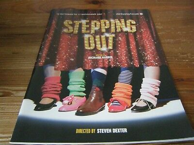 2007  - Theatre  Programme  - Stepping  Out -  At The Derby  Playhouse   Vgc