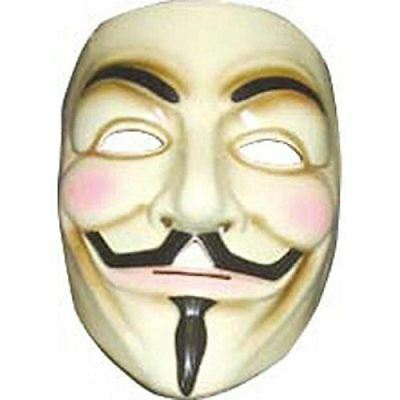 Rubies V for Vendetta Mask