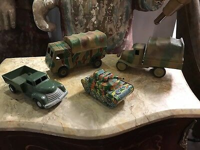Collection Of Old Army Trucks. Open To Offers.