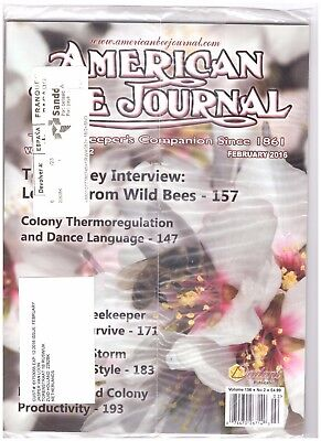American Bee Journal February 2016 Volume 157 no. 2