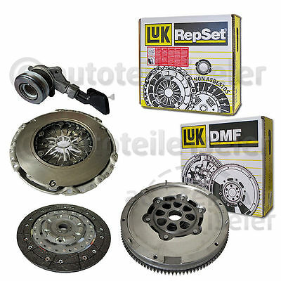 Luk Clutch Kit With Flywheel Ford Mondeo Iii 2.0 Tdci 115 130 Ps Mmt6 6 Speed