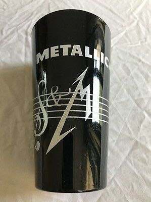 Metallica S&M Symphony Pint Glass. Limited Edition. Official Metclub. *Rare*