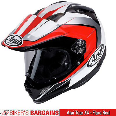 Arai Tour X4 Flare Red - Was £499.99 - Now £369.99
