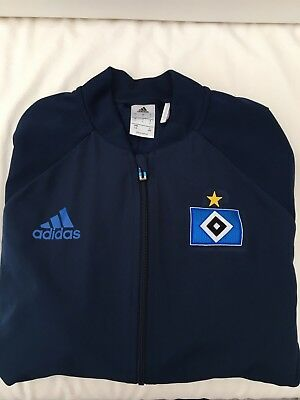 Hamburger SV training jacket football 2017/18 size Large , perfect condition