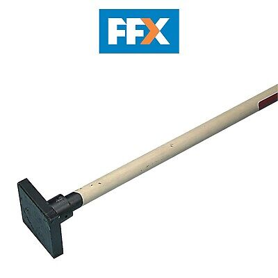 Faithfull FAIER10W Earth Rammer 4.5kg (10lb) with Wooden Shaft