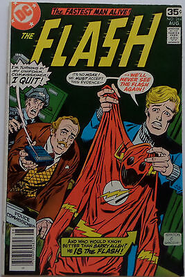 Flash #264 (Aug 1978, DC), NM condition, The Flash Quits?