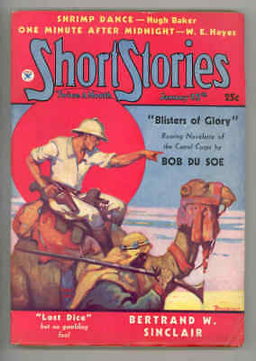 Short Stories #697 Historic-1935.arab Camel Cover-Lady Fight Interior - Fn/vf