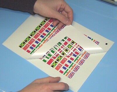 Doming inkjet paper with permanent adhesive,non-porous, best quality