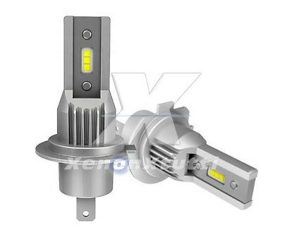 Kit Led H7 6000K Full Canbus Xenon 8000 Lm Lumen Lampade All In One Slim Lumile