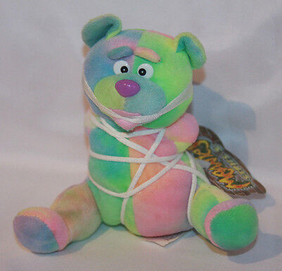 "Meanies ""Tied The Bear"" Series 3 Beanie Plush With Tag"