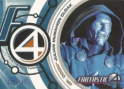 "Fantastic Four Movie - DD004 ""Dr Doom Cloak"" Costume Card #220/499"