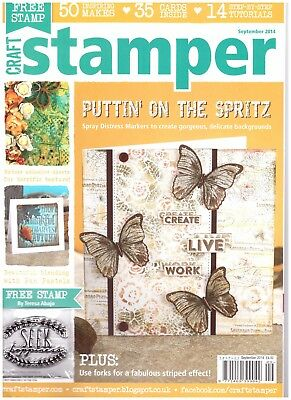 Craft Stamper Magazine September 2014