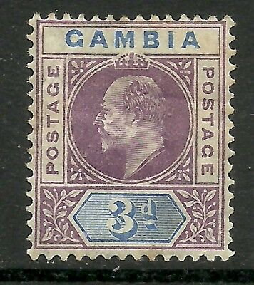 Gambia - EVII 3d definitive - SG49 - LMM - Cat £21