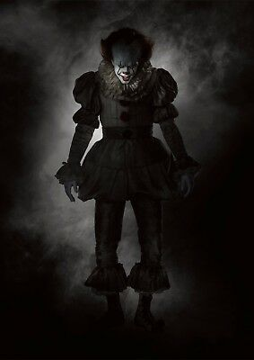 It Pennywise 2017 Poster A4 A3 A2 A1 Cinema Movie Large Format