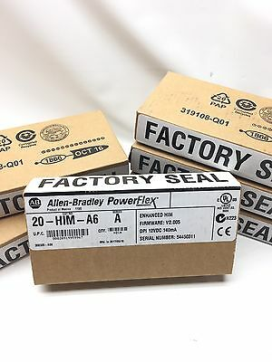 NEW IN FACTORY SEALED BOX 2017 Allen Bradley HIM Module Catalog 20-HIM-A6