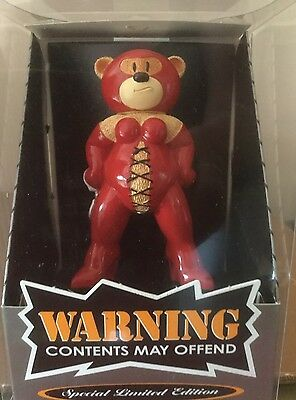 Bad Taste Bear 'Scarlet' Special Limited Edition Boxed
