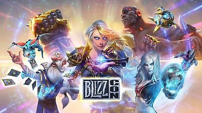 Blizzcon 2017 Entrance Ticket and Goody Bag Blizzard Convention Anaheim SOLD OUT
