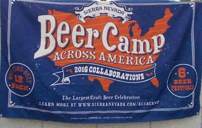 Sierra Nevada Beer Camp Across America Cloth Banner Craft Celebration 2016