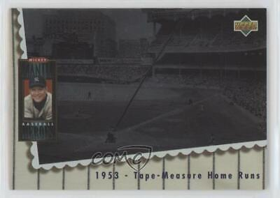 1994 Upper Deck Baseball Heroes #65 Mickey Mantle New York Yankees Card