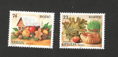 Serbia-Mnh Set-Christmas-2017.