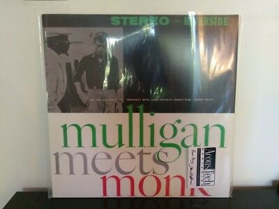 Thelonious Monk Meets Gerry Mulligan Analogue Productions 45 rpm double vinyl LP