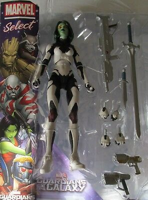 """Marvel Select Disney Store 6"""" LOOSE figure GAMORA (Guardians of the Galaxy)"""