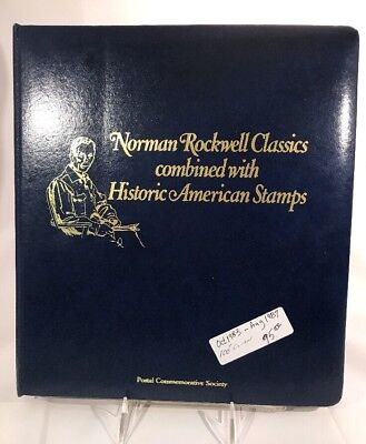 Norman Rockwell Classic combined with Historic American Stamps 100 Covers