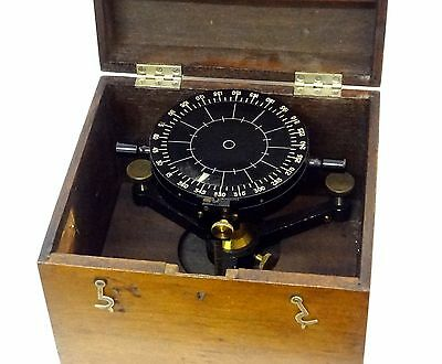 Antique Compass Fineman Nephoscope Antique 1900 Cloud Measuring Meteorological