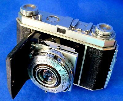 KODAK RETINA COMPUR-RAPID Vintage Folding Camera with RETINA-XENAR 3,5/5cm Lens