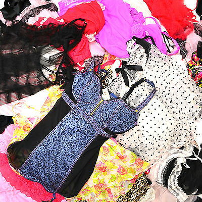 Victoria's Secret Wholesale Lingerie Lot of 50 Random Styles Colors Mixed Resale