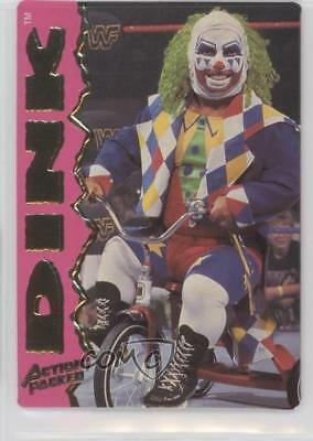 1995 Action Packed WWF #19 Dink the Clown Wrestling Card 0q3