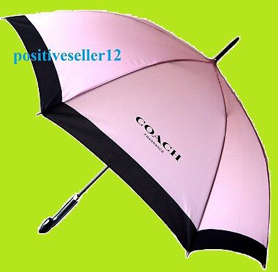 COACH New York Fragrance UMBRELLA pink black  women NWT GWP w/ EDT purchase