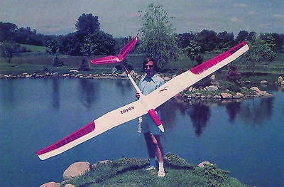 "Large Scale BORNE FREE scratch build r/c GLIDER Plans & instruction 130""Wingspan"