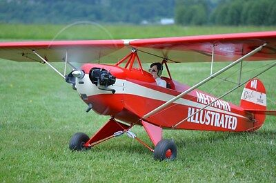 Giant 1/4 Scale Corben BABY ACE scratch build R/c Plane Plans, 84.5 in. wingspan